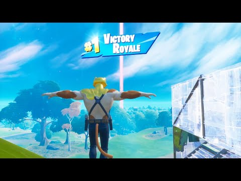 FORTNITE First Win With GOLD