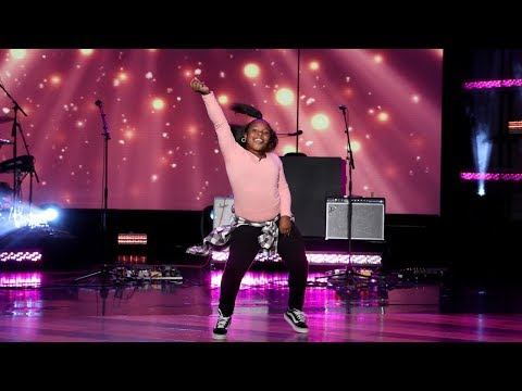 Kid Hip-Hop Dancer Jaylah Johnson Gets Down