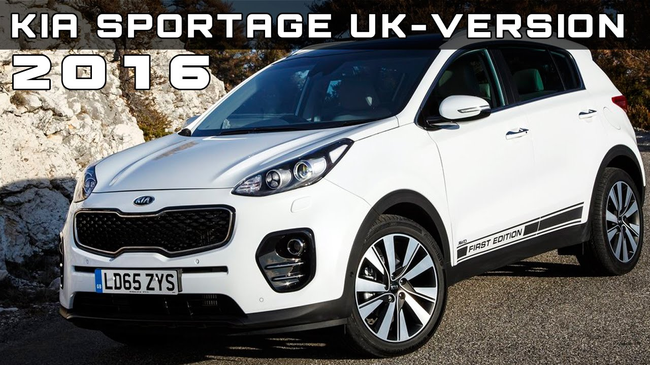 2016 kia sportage uk version review rendered price specs. Black Bedroom Furniture Sets. Home Design Ideas