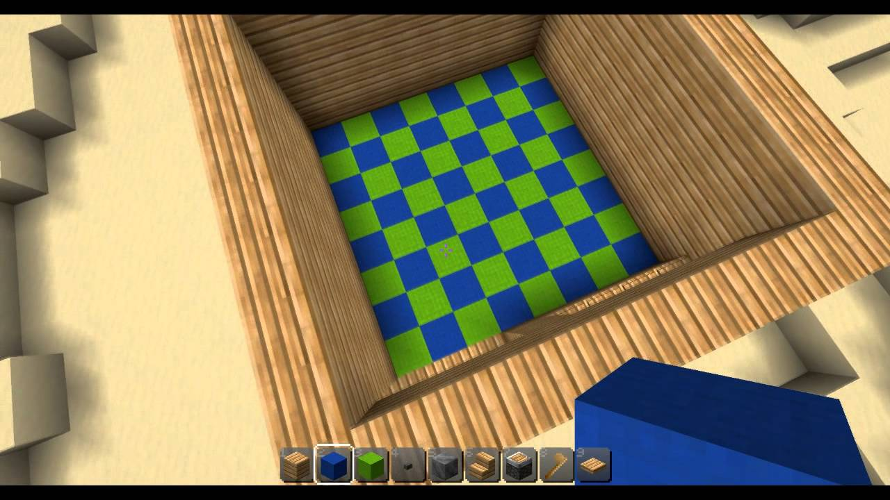 Chambre double fille for Salle a manger minecraft