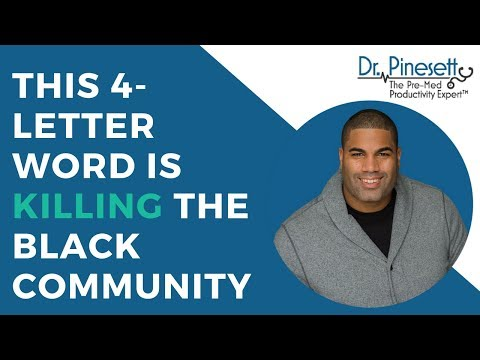 This 4-Letter Word Is Killing the Black Community