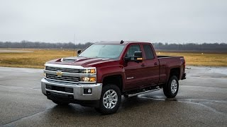 Chevrolet Silverado 2500HD 4x4 Diesel Double Cab 2018 Car Review