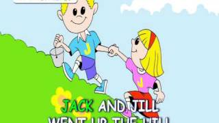 Jack and Jill went up the Hill nursery rhyme