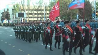 В Донецке прошёл парад посвящённый День Победы 9 мая 2015 vk.com/donbass.live(http://vk.com/donbass.live., 2015-05-09T09:44:06.000Z)