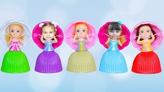 Learn colors with Cupcakes Song  for kids Nursery Rhymes Educational Video for children