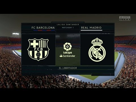 Fifa 20 Barcelona Vs Real Madrid Xbox One / PS4 Full Match Gameplay HD