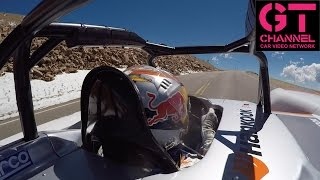 video thumbnail of On Board: Rhys Millen NEW EV Record at Pikes Peak Intl. Hill Climb