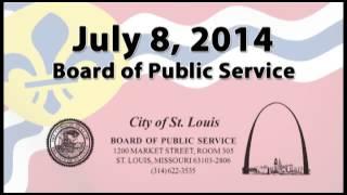 Board of Public Service - July 8, 2014