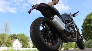 2015 - 2016 Corey Piergallini Riding his motorcycles showing all th...