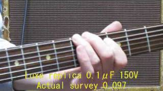 Tone Capacitor Exchange For Guitar Part1.wmv