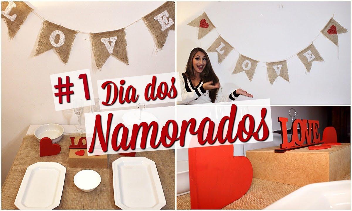 DIY Decoraç u00e3o para o Dia dos Namorados #1 YouTube -> Decoração De Restaurante Para Dia Dos Namorados