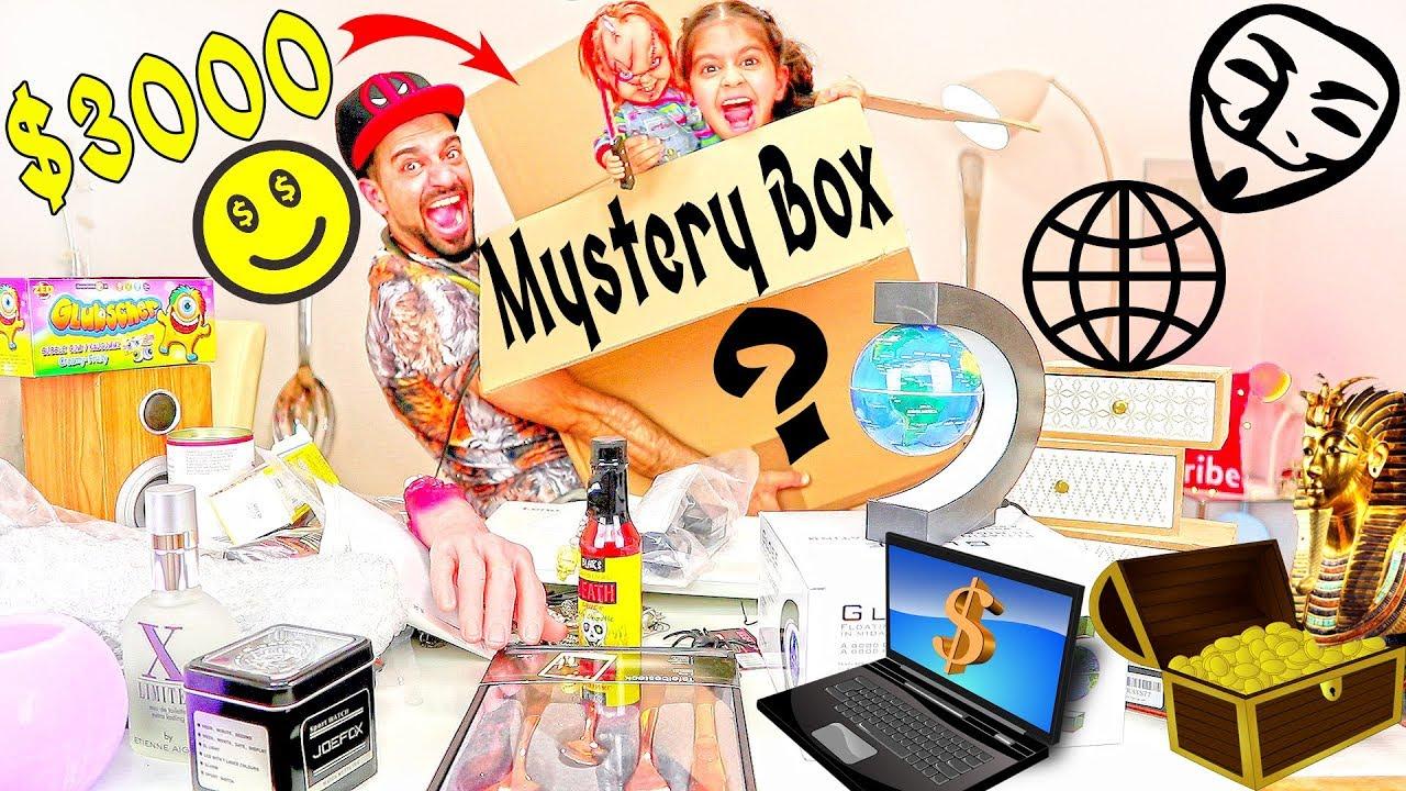 اشتريت صندوق عشوائي من الانترنت المظلم بقيمة ۳۰۰۰$ لايفوتكم ! Mystery Box Unboxing - WARNING: Scary