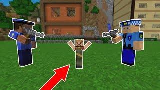 POLİSLER RÜZGARI YAKALADI HAPİSHANEYE GÖTÜRÜYOR! 😱 - Minecraft