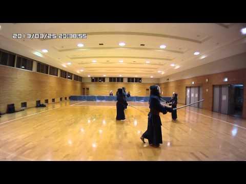 3/25(月) 一般/剣道基本稽古 Kendo Basic Training