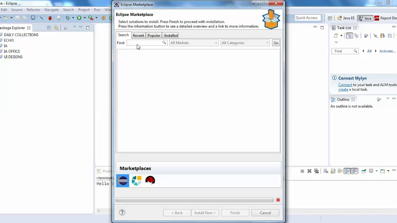 How Install JasperSoft Studio in Your Eclipse IDE