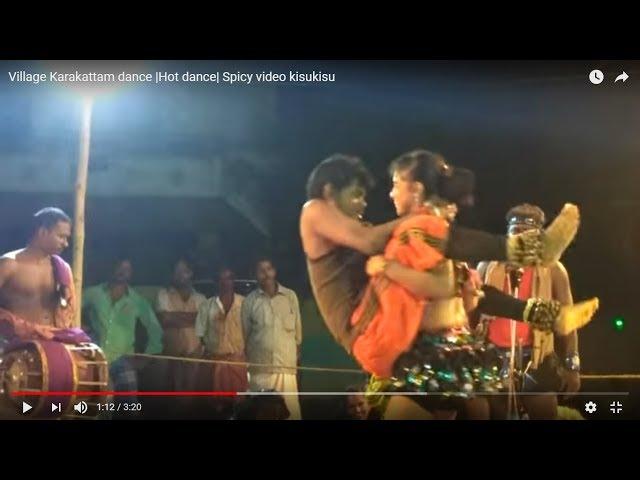 Karnatak Village Karakattam street dance