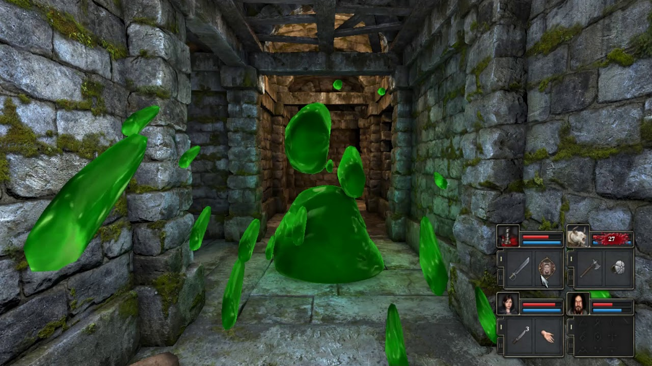 Legend of Grimrock 2: Discombobulated  - Farming XP - Unlimited Mod