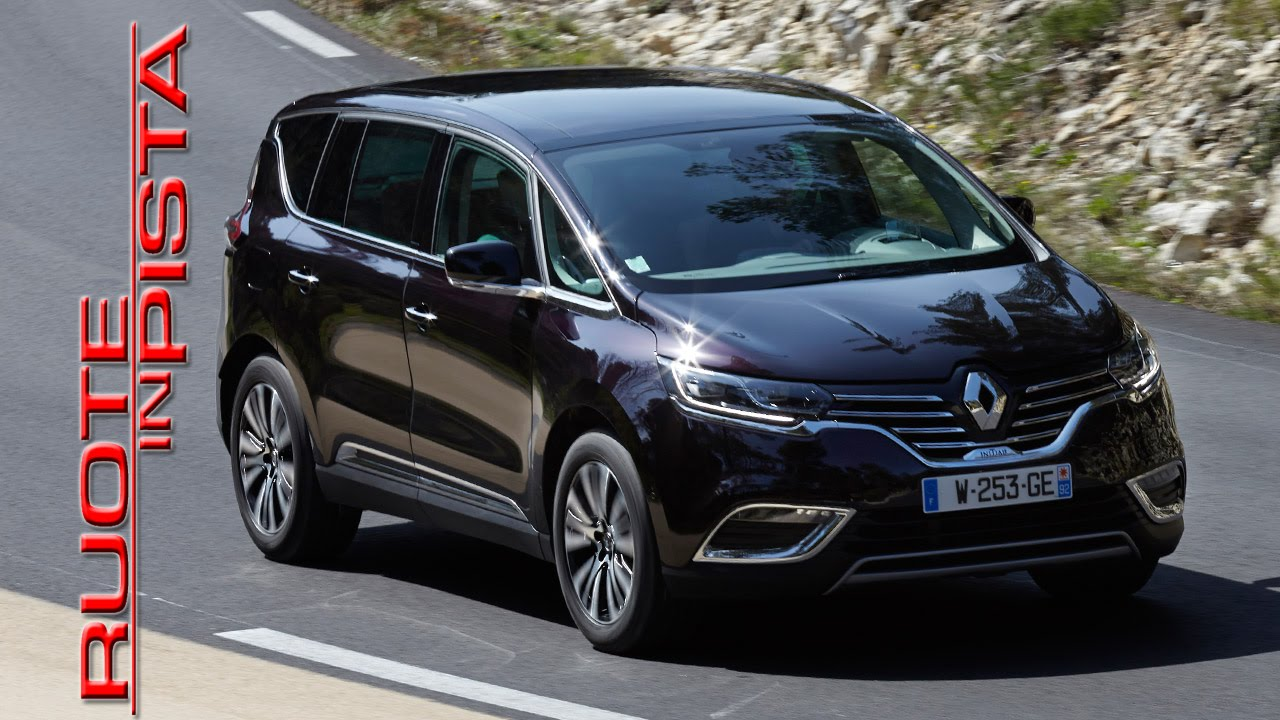renault espace test drive alfonso rizzo prova youtube. Black Bedroom Furniture Sets. Home Design Ideas