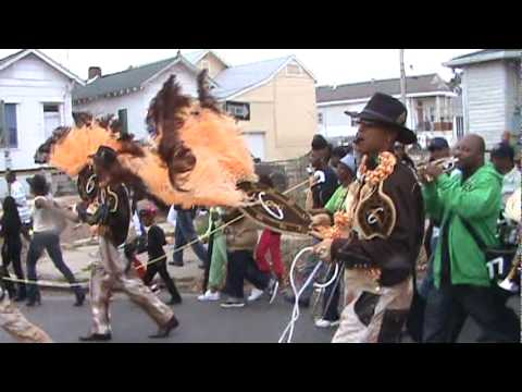 Treme Sidewalk Steppers 2010 Second Line feat New Birth Brass Band