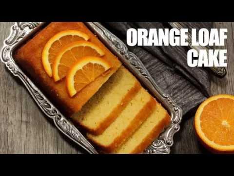 Orange Loaf Cake with Tang