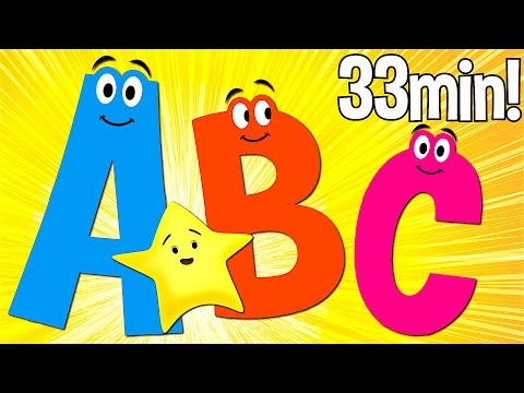 ABC Songs for Kids | A to Z (Uppercase) | Super Simple ABCs​