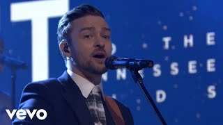 Repeat youtube video Justin Timberlake - Not A Bad Thing (Live on The Tonight Show Starring Jimmy Fallon)