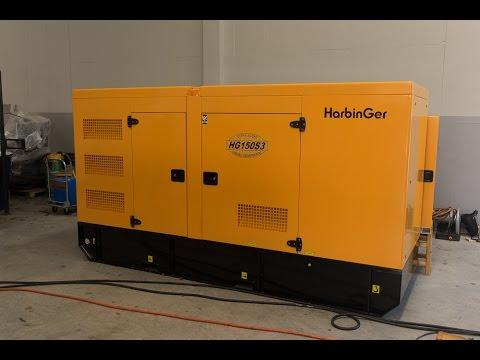 Test Load 110% HarbinGer Generator Set : HG150S3 150kVA@Prime Rating (HD)