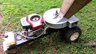 Repeat youtube video Homemade wood chipper