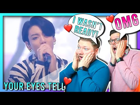 BTS - YOUR EYES TELL  REACTION  Dutchie & German reacts to BTS for the first time to NEW song