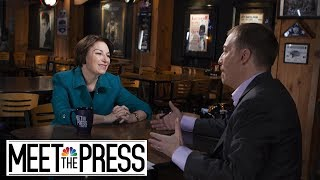 Full Klobuchar: 'What I'm Tired Of Doing Is Admiring The Problem' | Meet The Press | NBC News