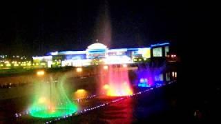 Ночные фонтаны Белгорода...