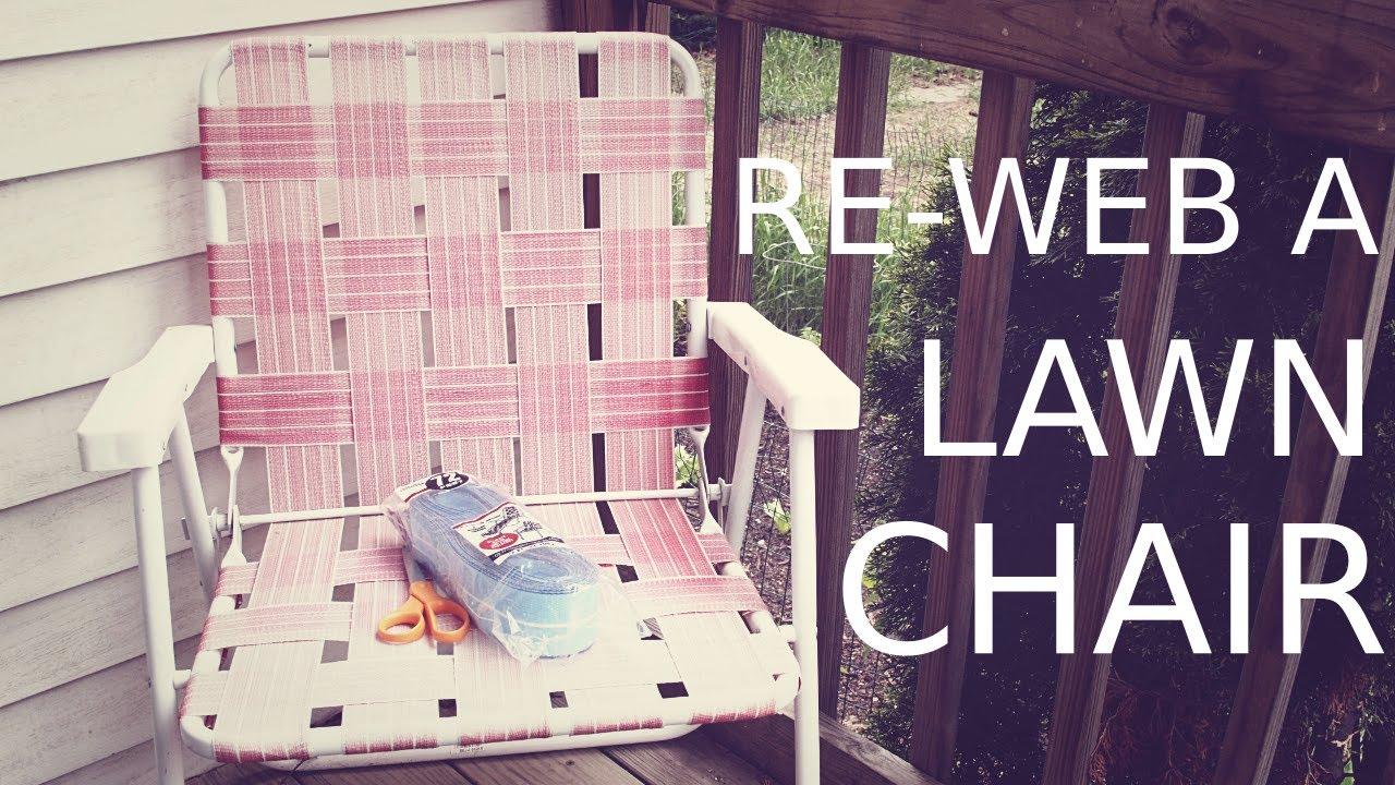 re web a lawn chair