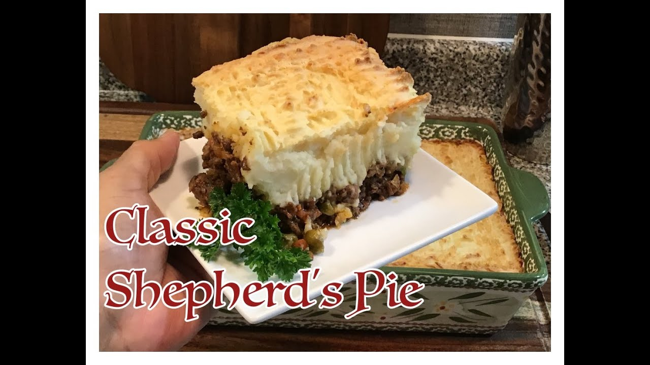Episode 93 - WHAT'S FOR DINNER!!! CLASSIC SHEPHERD'S PIE | EVERYTHING PAULETTE