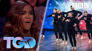 Mind-blowing Company Jinks get a standing ovation - The Greatest Dancer | Auditions