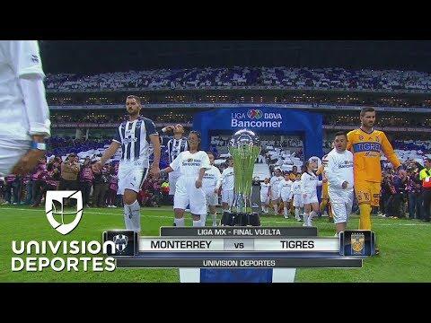 RESUMEN Y GOLES: Monterrey 1-2 Tigres | Final de Vuelta Apertura 2017