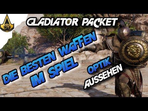 Assassins Creed Origins - Gladiator Packet Die besten Waffen im Spiel  DLC Pack - AC Origins