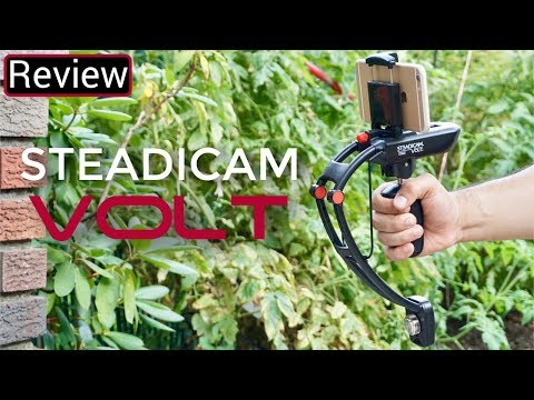 Steadicam Volt Review And Set Up - A Different Type Of Stabalizer