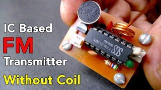 FM Transmitter - Without Coil