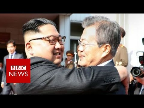 Korean leaders meet in surprise summit - BBC News
