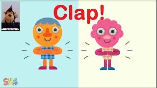 Kalau Kau Suka Hati Tepuk Tangan - Yuk Bernyanyi Lagu Anak Balita dengan Bahasa Inggris