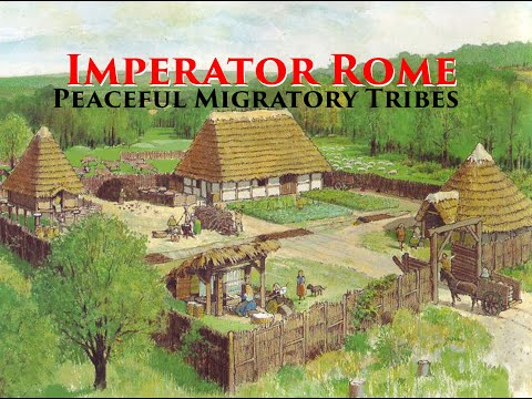 Imperator Rome Strategy Shorts: The Peaceful Migratory Tribe |
