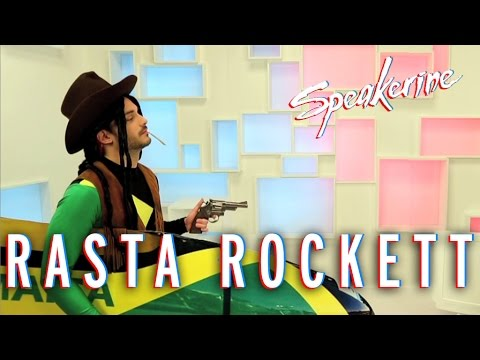 Rasta Rockett - Speakerine poster