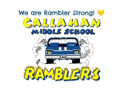 Rambler Strong Callahan Middle School 2020