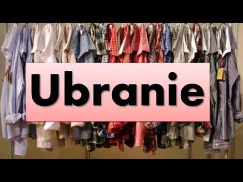 Польский. Тема: Ubrania (одежда)