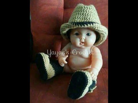 cowboy hat crochet sombrero vaquero pattern # 52