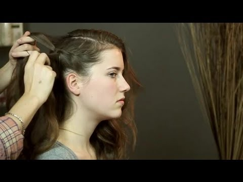Hairstyles: How to Put Long Hair in a Side Sweep