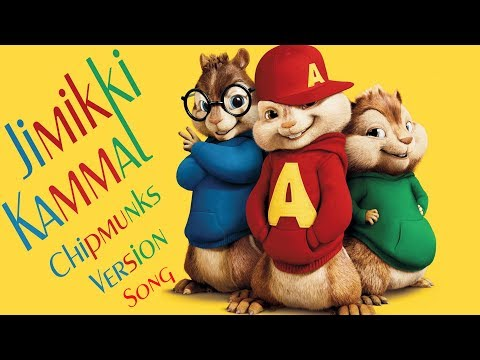 Jimikki Kammal Official Video Song From  Chipmunks  Dance Version