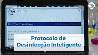 Protocolo de Desinfecção Inteligente da COHESP