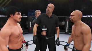 Rocky Balboa vs. Floyd Mayweather (EA Sports UFC 3) - CPU vs. CPU