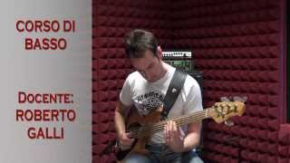 Video introduttivo al corso di basso elettrico tenuto da roberto galli presso la rad1 music factory cava manara.-------------------------------rad1 ...